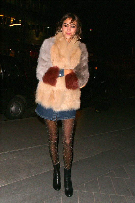 Alexa Chung in London