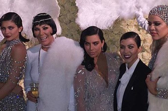 Inside Kris Jenner's Lavish Great Gatsby Themed 60th Birthday Party
