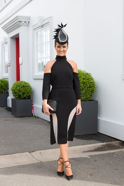 Name: Whitney Berry Outfit: Yeojin Bae,Tracy Mckinnon millinery Race day: Derby Day 2015 Location: Melbourne