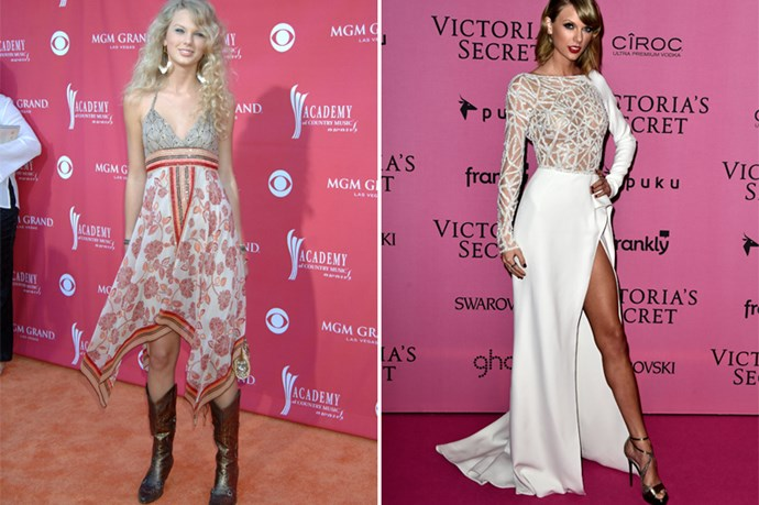 Oh Taylor of old. Your flouncy dresses, cowboy boots, and occasional opera-length gloves will not be missed (except in the dark of the night, while we listen to <em>Fearless</em> with tears in our eyes).