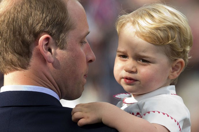This Life Sized Prince George Cake Is Terrifying