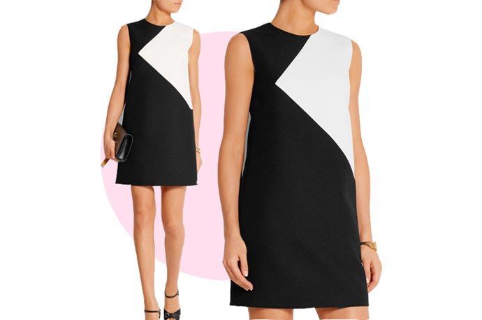 "This sweet <a href=""http://www.net-a-porter.com/au/en/product/592489/saint_laurent/two-tone-wool-mini-dress"">Saint Laurent mini dress</a> could a cute cocktail wedding dress, or it could be a Saturday night party dress. See? Versatile!"