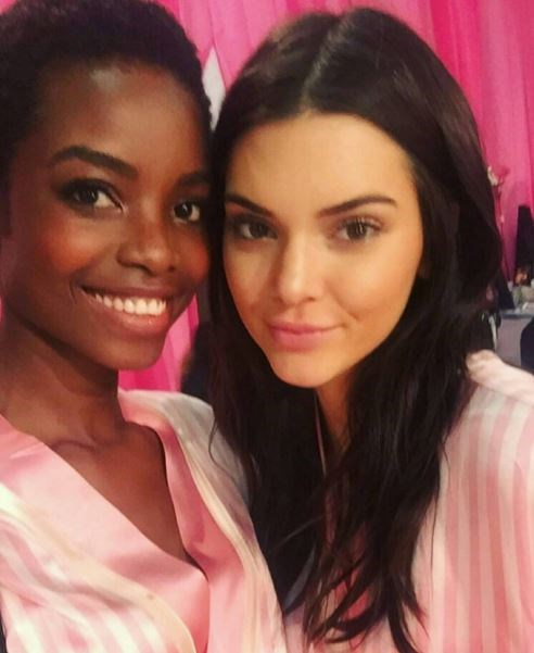 Maria Borges and Kendall Jenner.