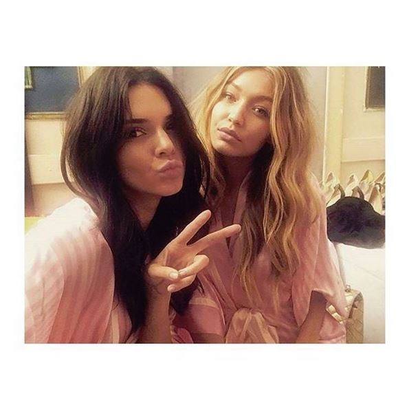Kendall Jenner and Gigi Hadid.