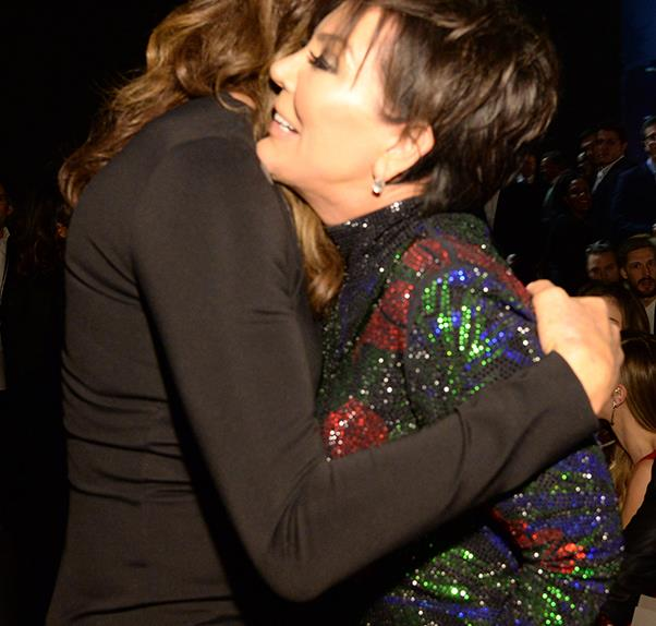 Kris And Caitlyn Jenner Played Nice At The Victoria's Secret Show