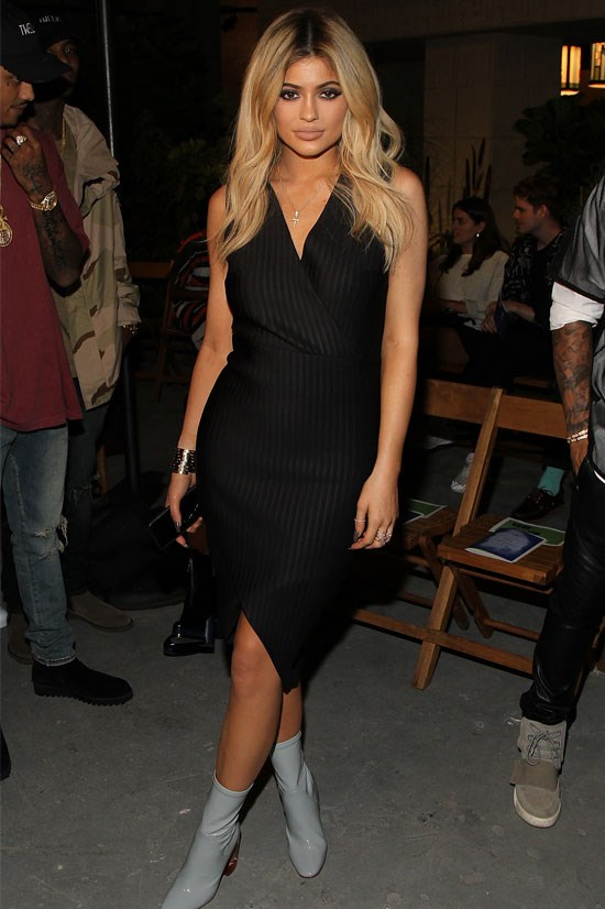 Kylie attends the opening ceremony of New York Fashion Week.