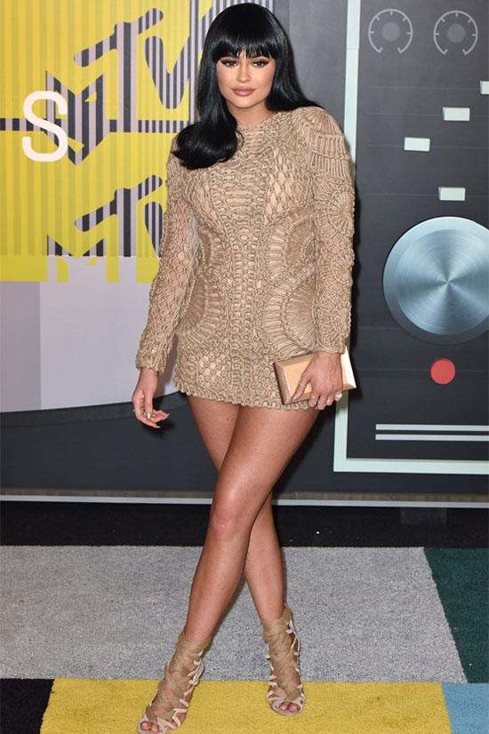 Kylie Jenner at the 2015 MTV Video Music Awards.