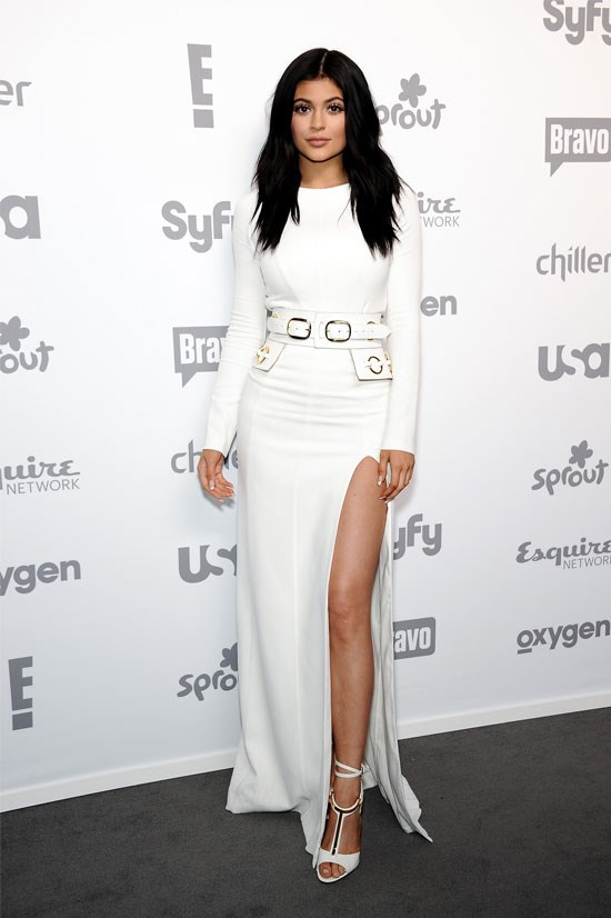 Kylie attends the 2015 NBC Universal Cable Entertainment Upfront.