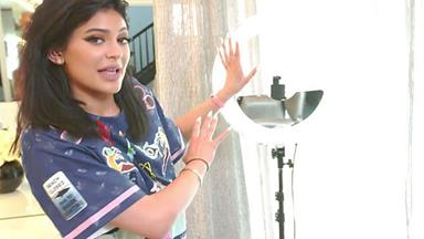 See Kylie Jenner's In-House 'Selfie Station'