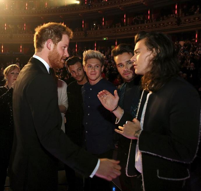 PRINCE HARRY AND HARRY STYLES. Name sharing friends.