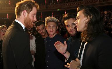 When (Prince) Harry met Harry (Styles)