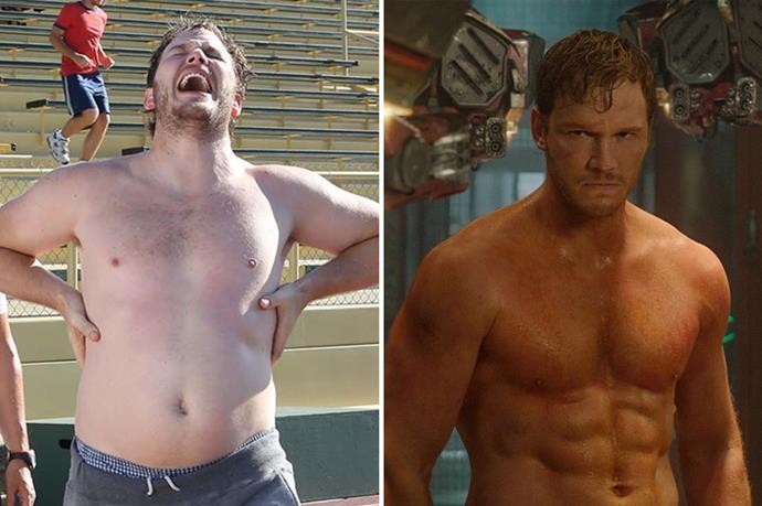 Damn. Chris Pratt leveled up for <em>Guardians of the Galaxy</em> big time.