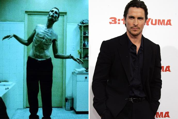 Christian Bale's role in <em>The Machinist</em> is literally the stuff of nightmares.