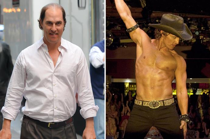 Matthew McConaughey went from one end of the scale to the other with frightening speed.