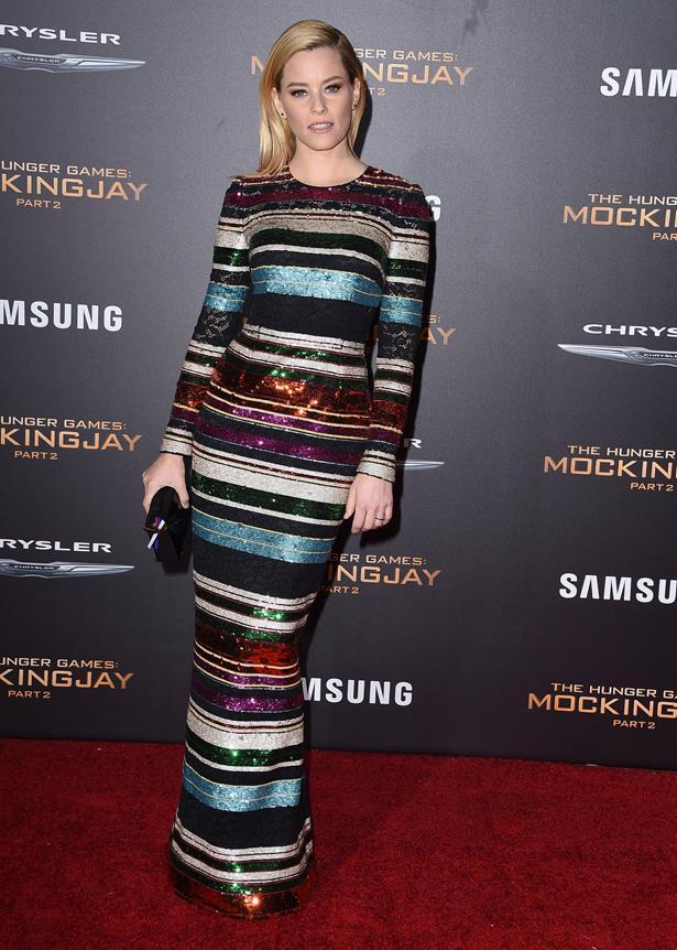 Elizabeth Banks in Dolce and Gabbana.