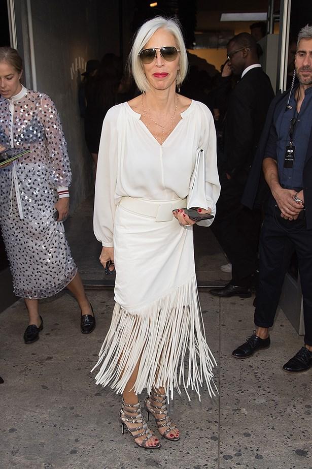 "Linda Fargo is regarded as the ""eyes"" of famous luxury retailer Bergdorf Goodman's. So. Elegant."