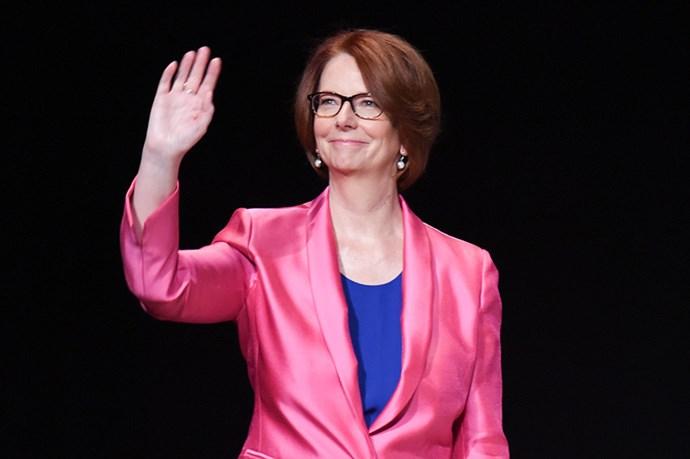 Watch A Live Stream Of Julia Gillard's Speech At Cosmpolitan's Fun Fearless Female Awards