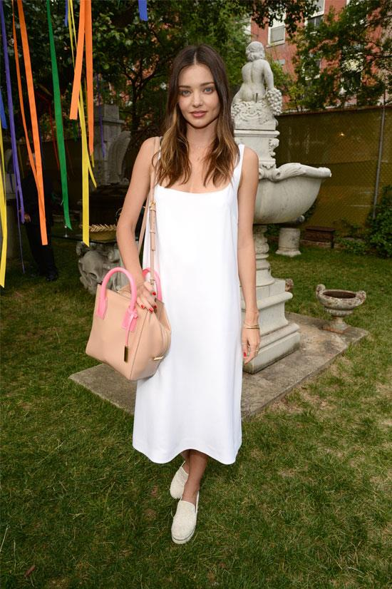 Miranda Kerr at the Stella McCartney Spring 2016 Presentation.