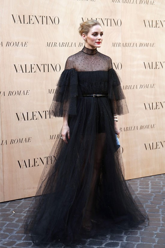 Olivia Palermo <br> <br> All hail Olivia Palermo, queen of chic. 2015 for Olivia has proved she's still top of her game- Exhibit A, this Victorian-style dress. She's also been one to watch on the street style radar (no surprises).