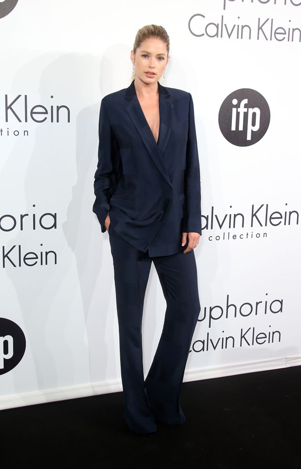Doutzen Kroes went sleek at the Cannes Film Festival.