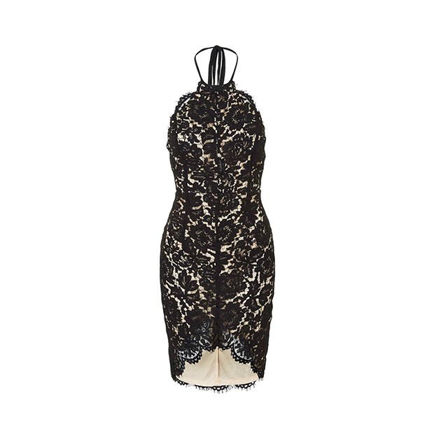 "Lace dress, $179, <a href=""http://www.witchery.com.au/shop/woman/clothing/dresses/60185855/Lace-Detail-Dress.html"">Witchery </a>."