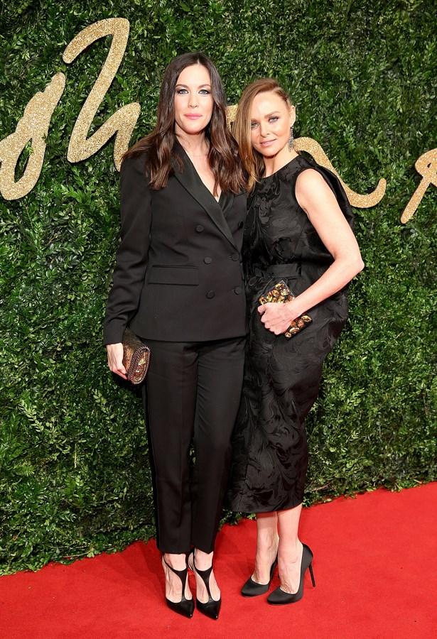 Liv Tyler and Stella McCartney.