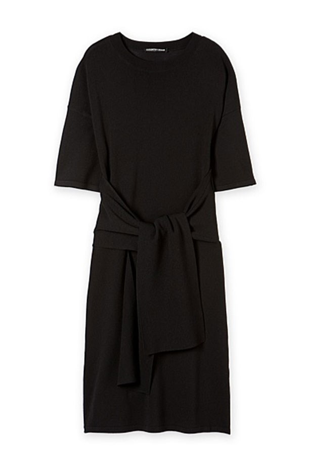 "Dress, $149, Country Road, <a href=""http://www.countryroad.com.au/shop/woman/clothing/dresses/60184032/Tie-Front-Dress.html"">countryroad.com.au</a>"