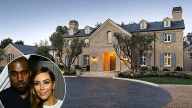 Inside Kim Kardashian and Kanye West's $20 Million LA Mansion