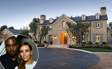 Inside Kim Kardashian and Kanye West's $20 Million LA Mansion