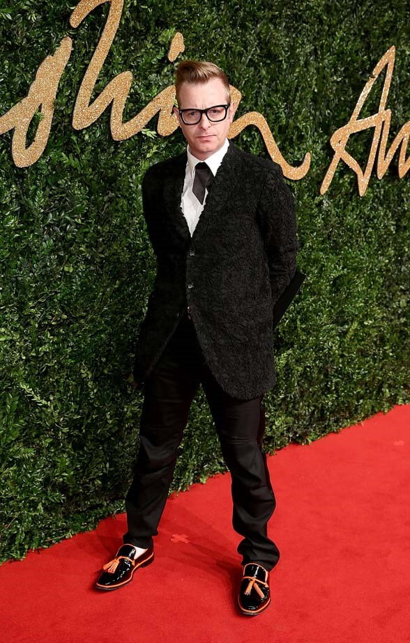 Sid Bryan attends the British Fashion Awards.