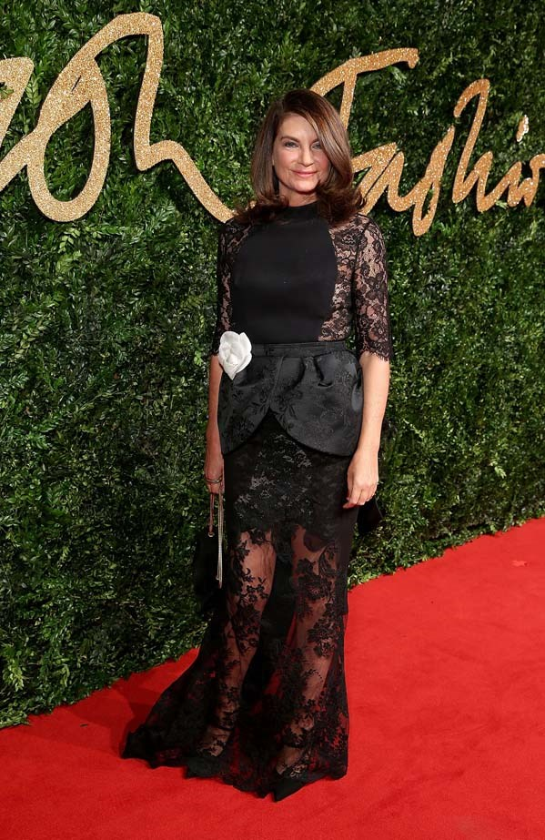 Natalie Massenet attends the British Fashion Awards.