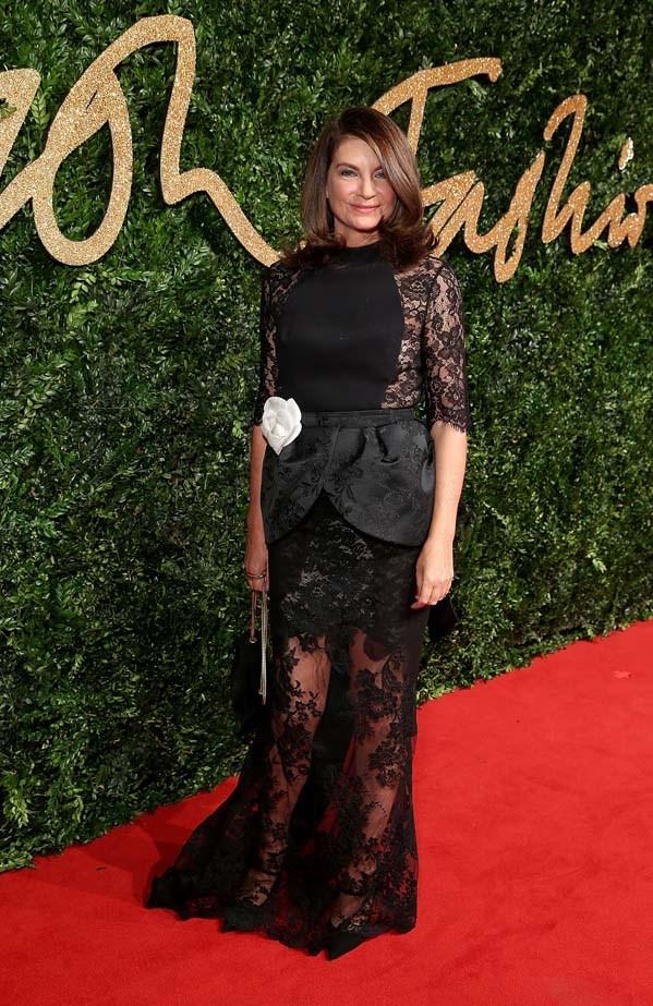 Natalie Massenet attends the British Fashion Awards.