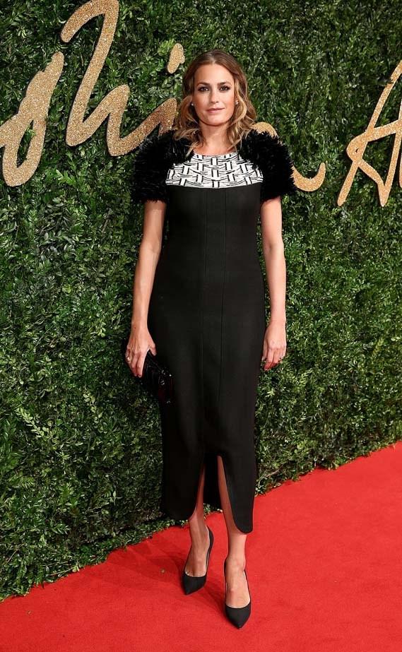 Yasmin Le Bon at the British Fashion Awards