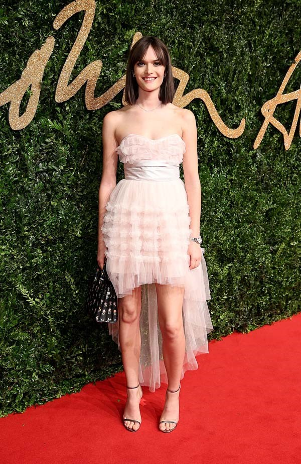 Sam Rollinson at the British Fashion Awards