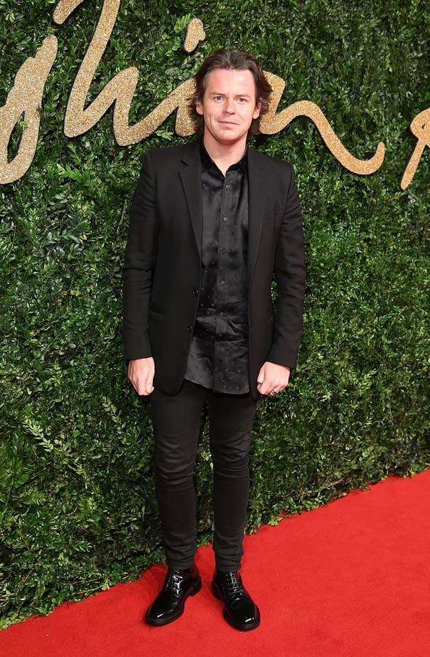 Christopher Kane at the British Fashion Awards.