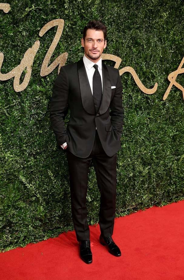 David Gandy at the British Fashion Awards.