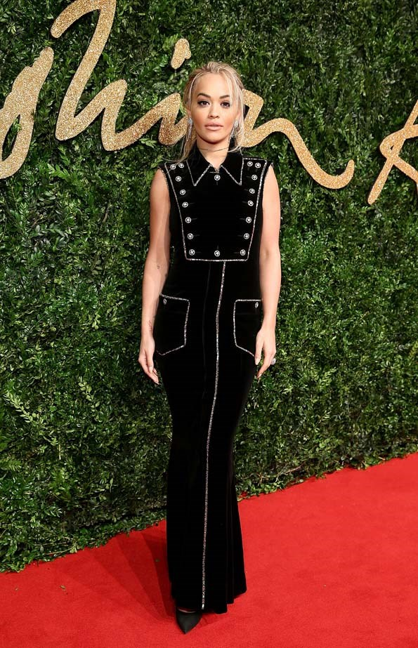 Rita Ora at the British Fashion Awards