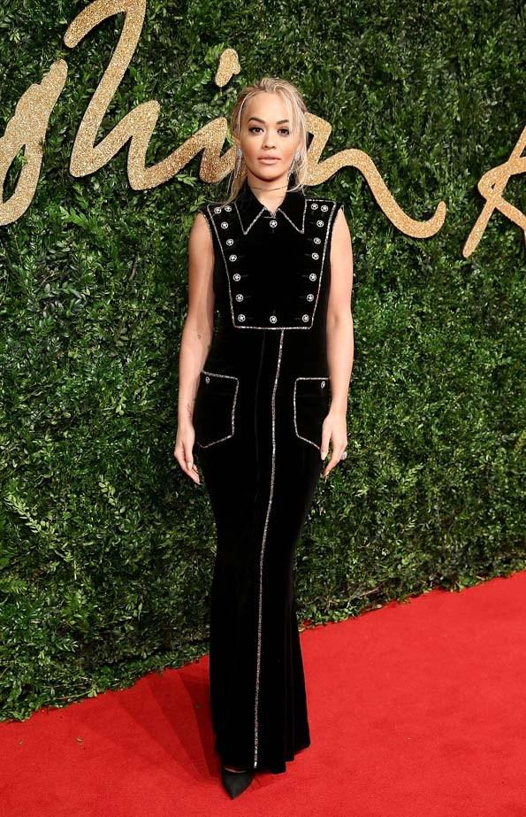 Rita Ora at the British Fashion Awards