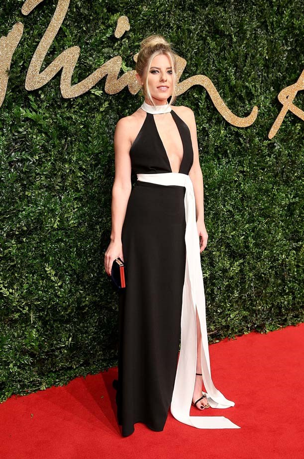 Mollie King at the British Fashion Awards,