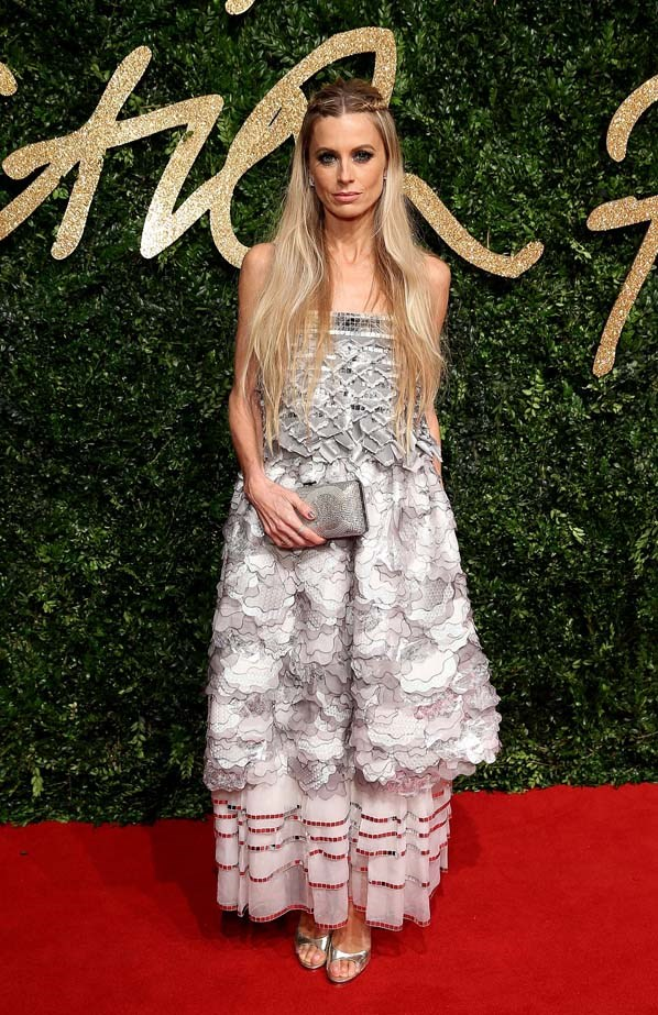 Laura Bailey attends the British Film Awards.