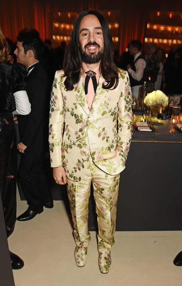 Allessandro Michele attends the British Fashion Awards.