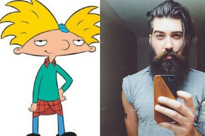 In Confusing News, The Guy Who Voiced Hey Arnold Is Now A Super Babe