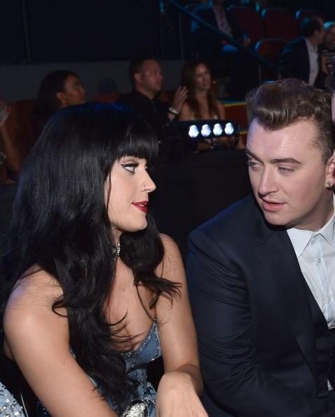 Katy Perry and Sam Smith.