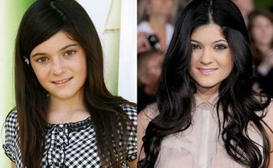 Kylie Jenner's Complete Beauty Transformation