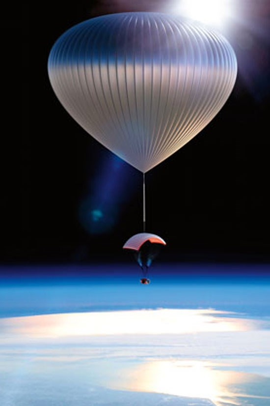 """World View Exploration at the Edge of Space, $90,000, <a href=""""http://<a href=""""http://www.neimanmarcus.com/en-au/christmasbook/fantasy.jsp?cid=CBF15_O5645&cidShots=m,a,b&r=cat48140738&rdesc=The%20Fantasy%20Gifts&pageName=WORLD%20VIEW%20SPACE%20EXPLORING"""">worldviewexperience.com/"""">World View</a> Experience, neimanmarcus.com</a> <br> <br> This is pretty epic, we can't deny."""