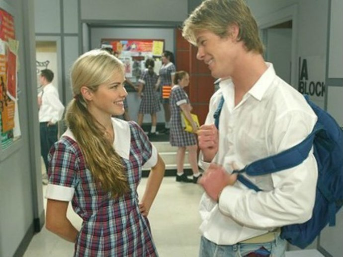 Before Chris Hemsworth was Thor he underwent the Australian Actors Rite Of Passage, starring in soapy Home & Away. He was still dreamy then.