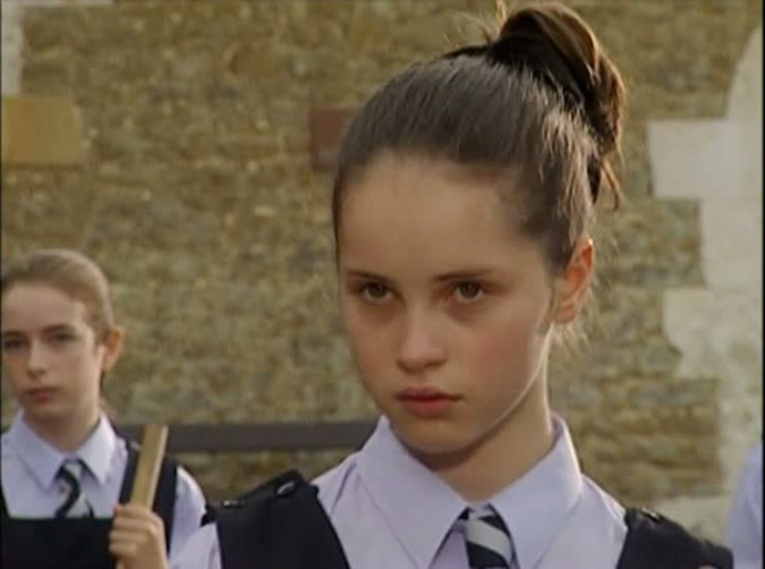 Felicity Jones has been racking up the critical acclaim for films such as Like Crazy and The Theory Of Everything, but she was also very cute on British TV series The Worst Witch. Image via Twitter