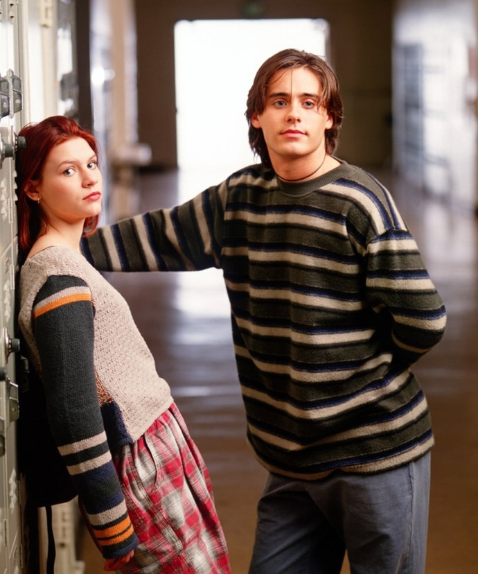 Be still our beating hearts, remember when Clare Danes and Jared Leto starred in ultimate teen drama My So Called Life? Of course you do! Image via en.wikipedia.org
