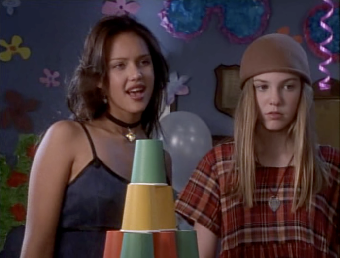 That time Jessica Alba was on the Secret World of Alex Max? Yeah that happened. Image via reddit