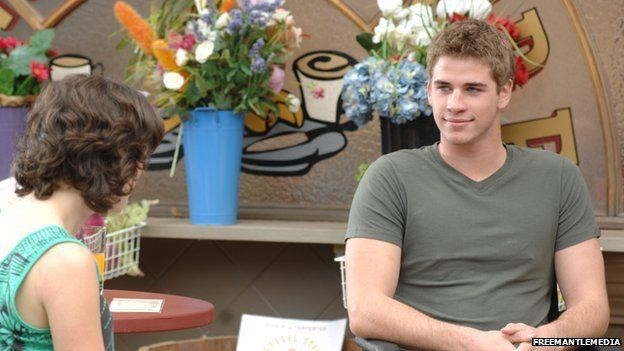 The Hemsworth brothers did their time in Aussie soap land. Liam Hemsworth played paraplegic Josh Taylor. The other hunky Hemsworth brother, Luke, also appeared in Neighbours. Image via imgbuddy.com